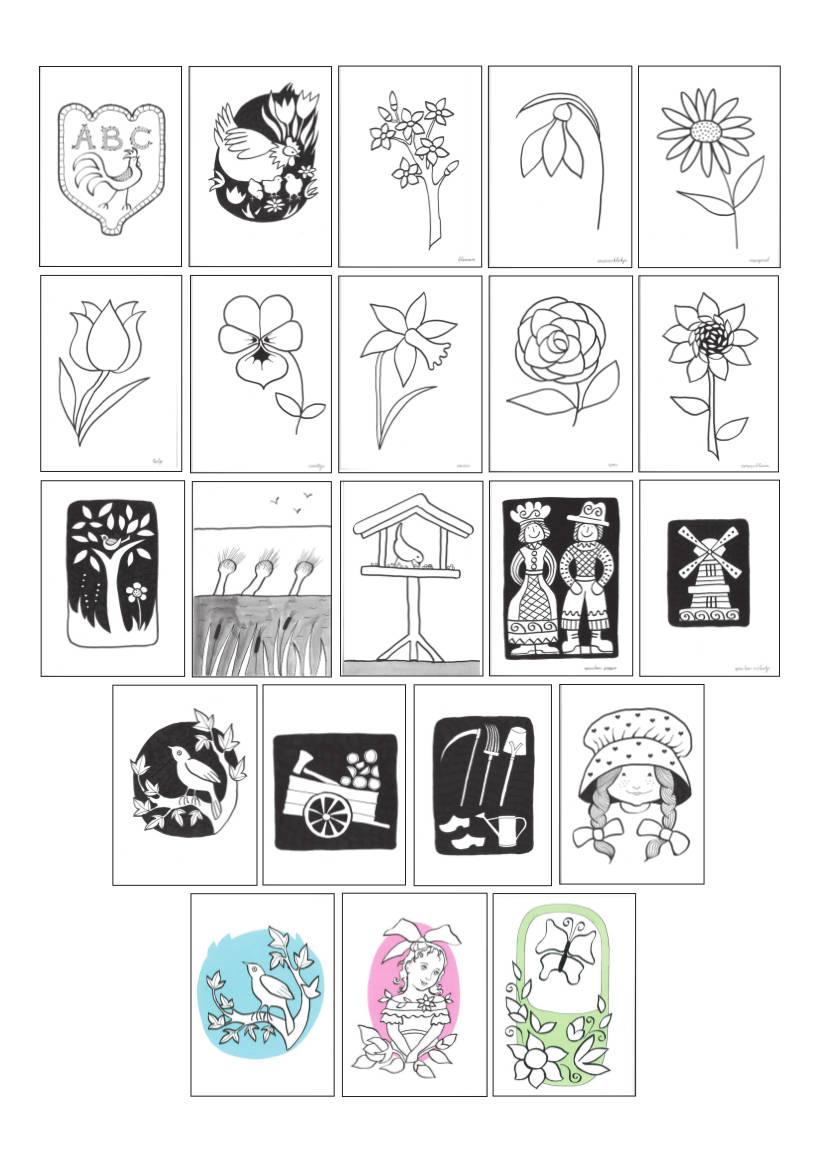Gratis Kleurplaten Voor Ouderen.Kleurplaten Map Voor Mensen Met Dementie Kleur Vertel